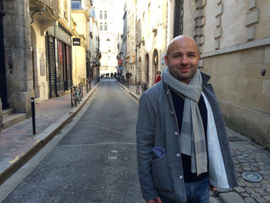 Matthieu Rouveyre, conseiller municipal de Bordeaux - Radio France