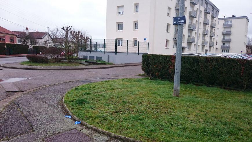 Le corps de la victime a été retrouvé rue des Capucines à Lunéville