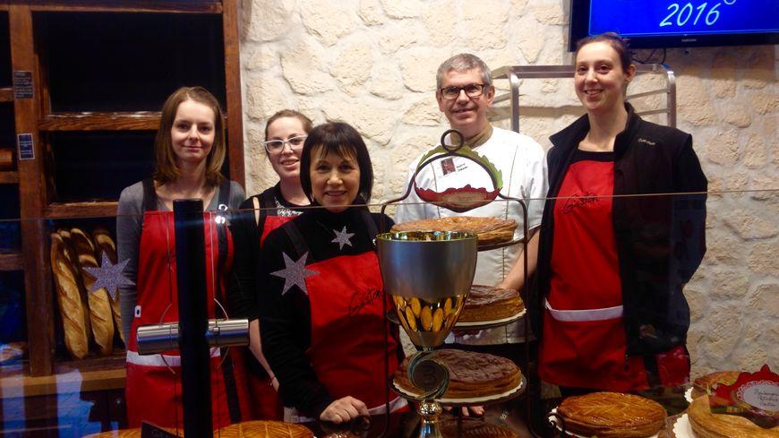 L'équipe de la boulangerie Gaston à Courcelles-Chaussy