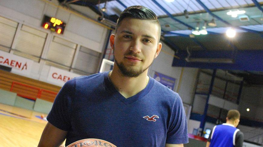Yann Siegwarth, le joker-médical du Caen Basket Calavdo