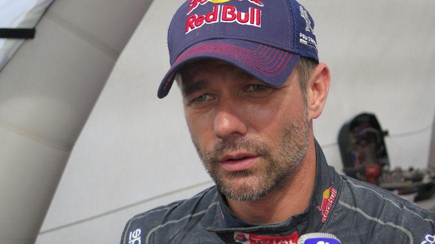 Sébastien Loeb au bivouac de Jujuye.