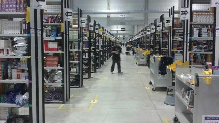 L'entrepôt Amazon de Sevrey