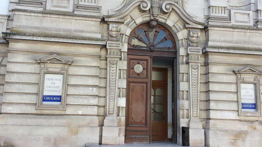 Le Palais de Justice de Libourne