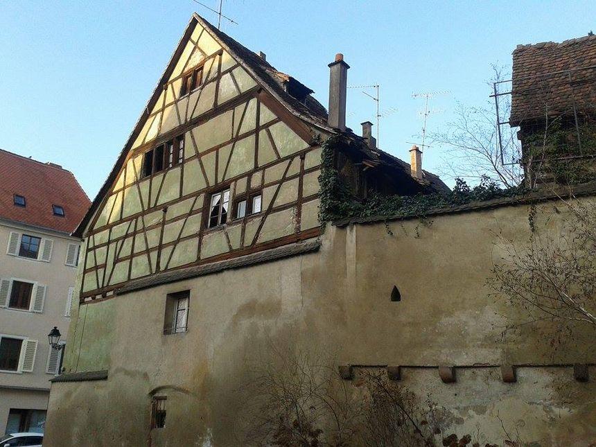 Maisons bientôt démolies pour l'extension de la Bibliothèque humaniste -Sélestat - Radio France