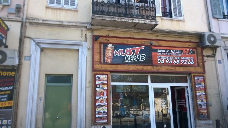 "Le snack ""Must Kebab"" de Cannes"