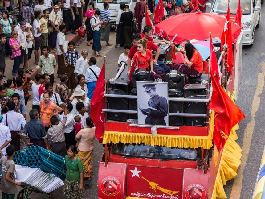 campagne électorale Birmanie - Aucun(e)