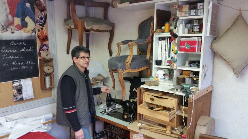 Didier Rodriguez, tapissier à Grenoble - Aucun(e)