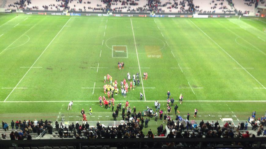 Le Stade Français battu par Toulon, à Nice