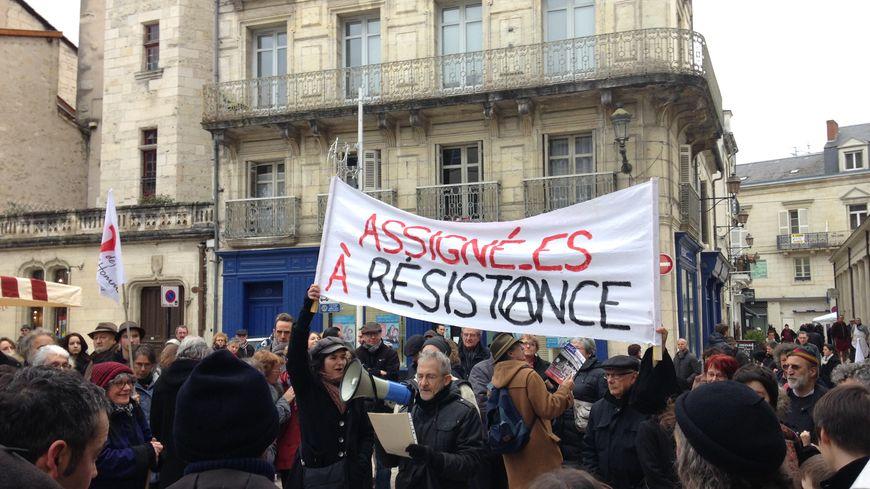 Près de 200 manifestants se sont réunis à Périgueux samedi matin.