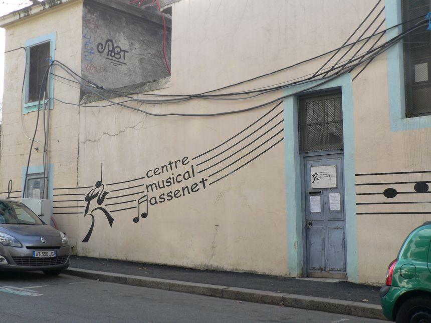 l ecole de musique Massent dans le quartier Jacquard  - Radio France