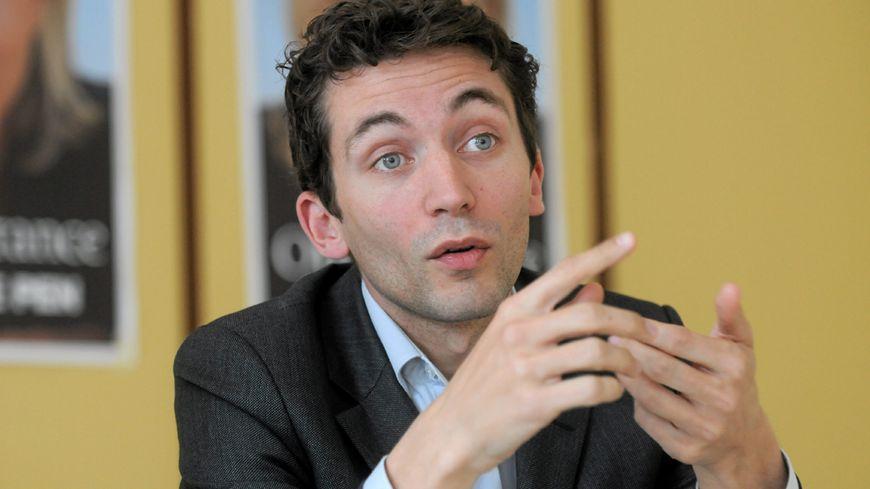 Julien Sanchez, maire FN de Beaucaire (Gard)