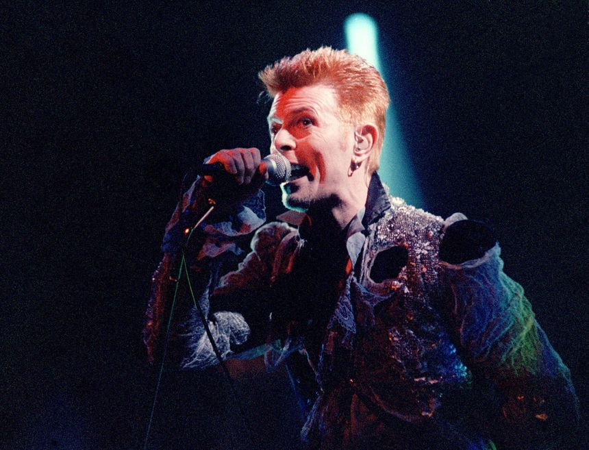 David Bowie en 1996 - Radio France