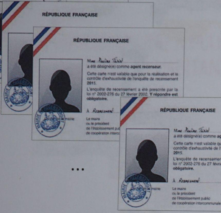 Cartes officielles des agents recenseurs - Aucun(e)