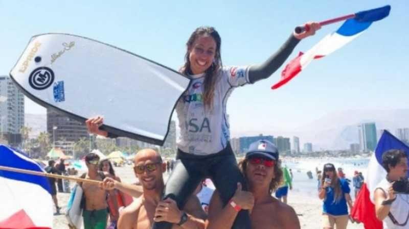 Anne-Cécile Lacoste au Chili en décembre dernier - Aucun(e)