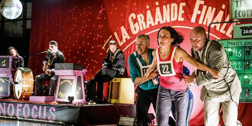 La grààande finààale, Cie Volubilis (c) Alex Giraud. - Radio France