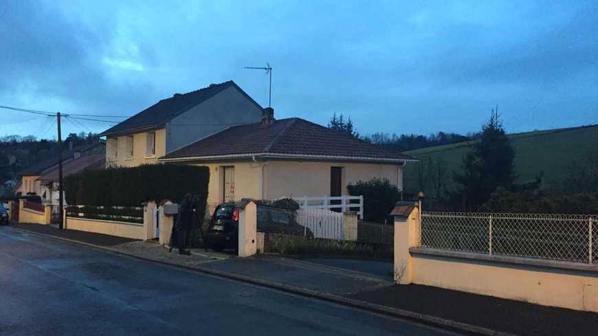 C'est dans cette maison de la rue Louis Braille que le couple a été découvert