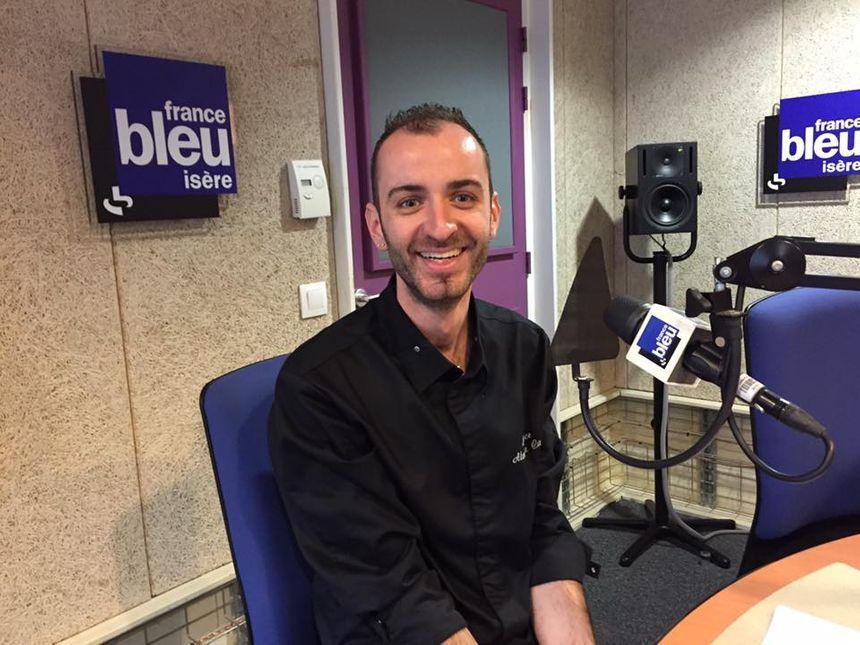 Alexandre Casa de l'Odace à Grenoble - Radio France
