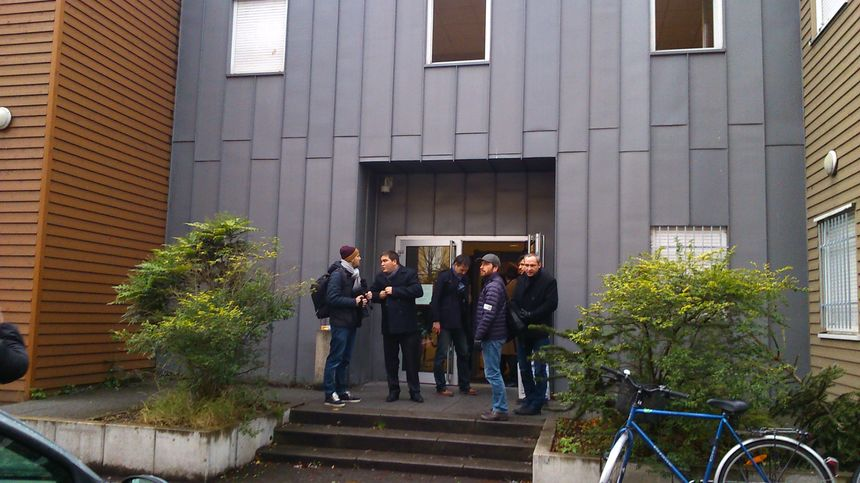 Le tribunal évacué jusqu'en milieu de matinée - Radio France