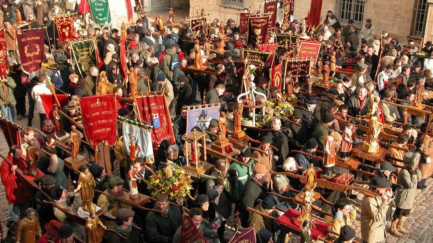 La Saint Vincent Tournante se déroule cette année à Irancy dans l'Yonne