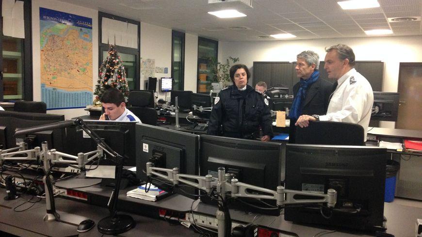 Le préfet de Vaucluse visite le commissarriat de police d'Avignon