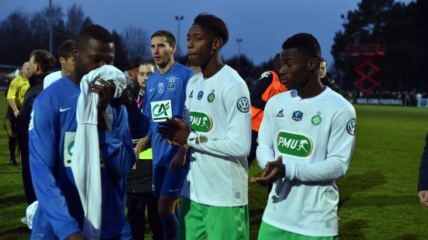 Les vosgiens inconsolables après leur élimination face à Saint-Etienne