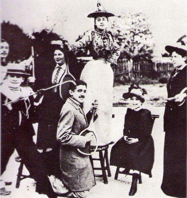 Le coup droit lifté de Marcel Proust