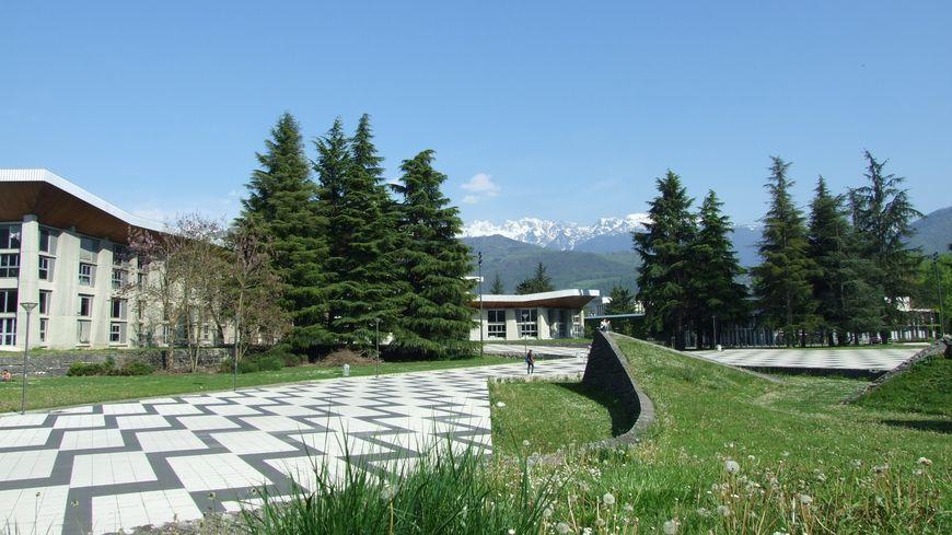 Le domaine universitaire à Saint-Martin-d'Hères. Image d'illustration.