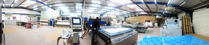 L'atelier d'ACRILA où sont découpées et imprimées les différentes pièces - Aucun(e)