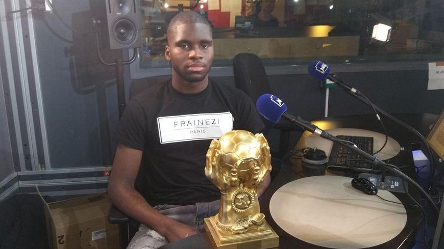 Odsonne Edouard, Titi d'or PSG 2015 (meilleur jeune non pro centre formation)