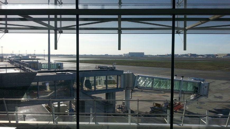 Le tarmac de l'aéroport de Toulouse Blagnac