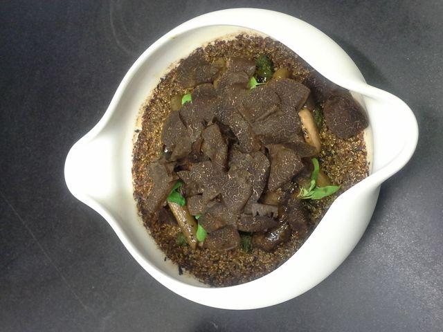 Quinoa aux truffes