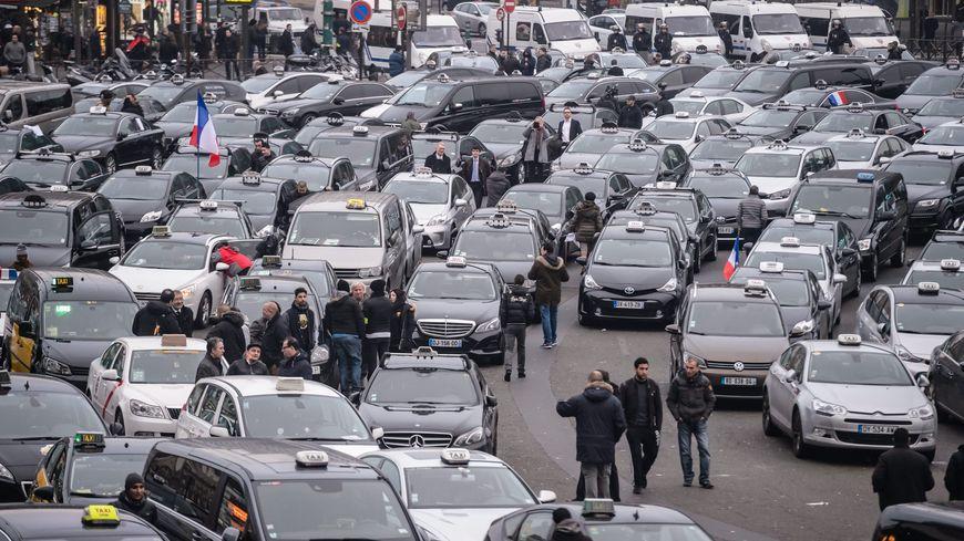 Manifestation de taxis
