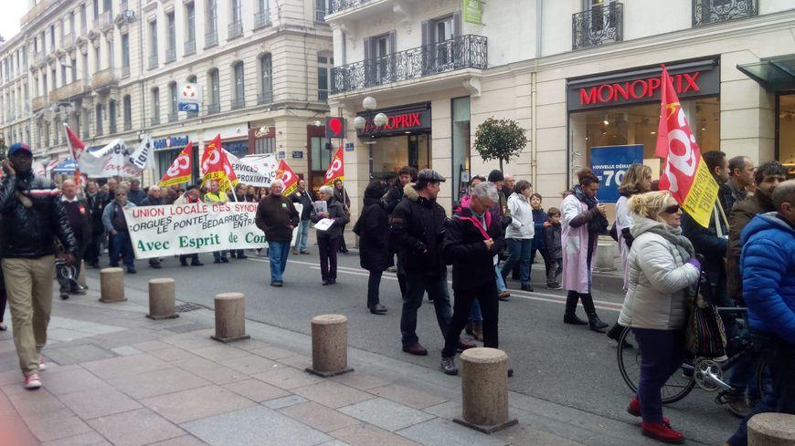 Manifestation à Avignon