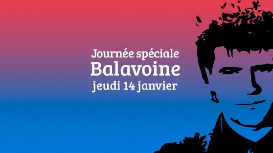 Hommage sur France Bleu Poitou à Daniel Balavoine