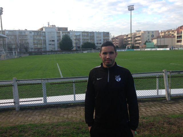 Walid Cherfa, défenseur et capitaine du Toulouse Rodéo. - Radio France