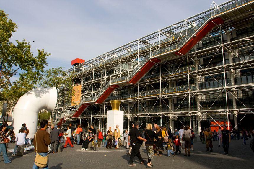 le Centre Beaubourg - Maxppp