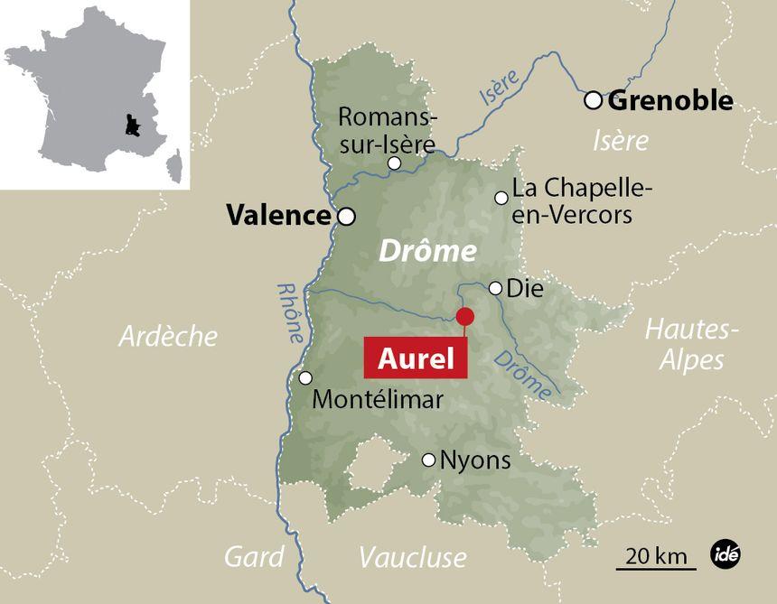 Aurel, dans la Drôme - Aucun(e)