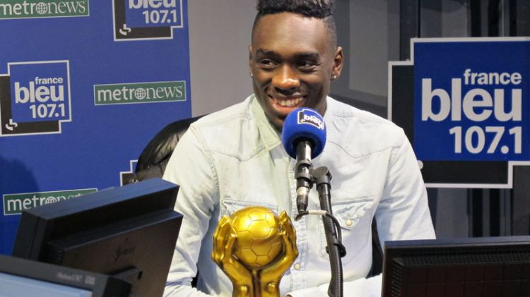 Jean-kévin Augustin PSG titi d'or 2014