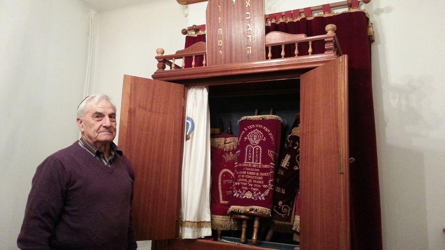 Jacques Mergui, président de la communauté juive de Poitiers.