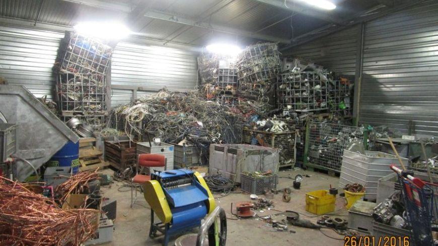 900 tonnes de métaux ont été volés depuis 2014 dans des entreprises