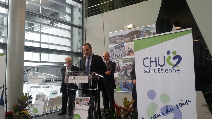 Les Voeux du directeur de Saint-Etienne, Frédéric Boiron