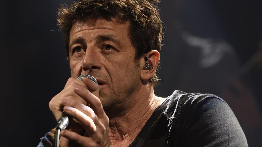 Patrick Bruel lors de l'enregistrement de France Bleu Live le 28 janvier dernier