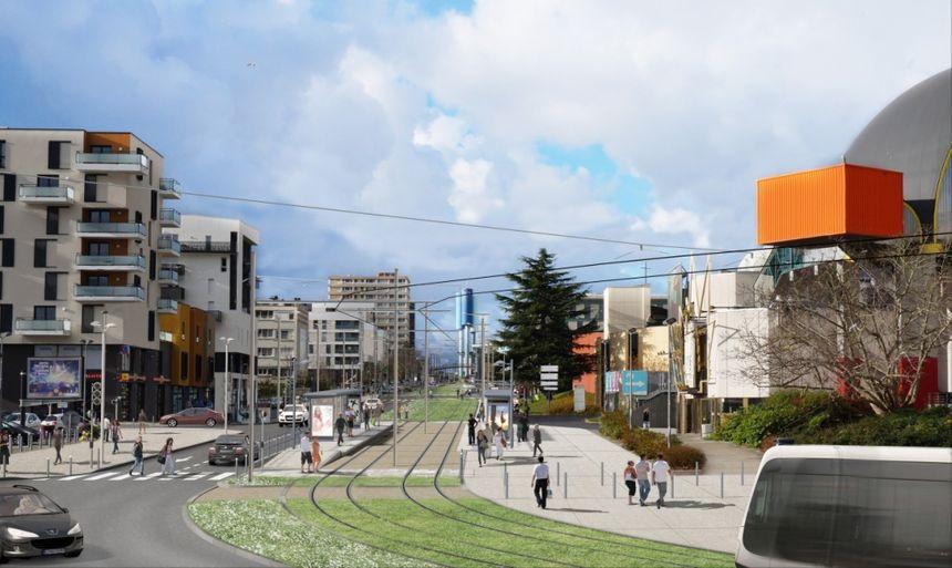 A Caen Le Projet De Tram Fait Peau Neuve