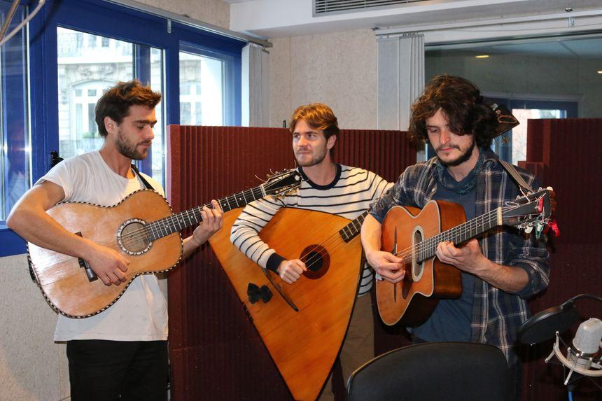 "Vladimir, Romain, Florian forme ""Tchayok"", un trio magnifique ! - Radio France"