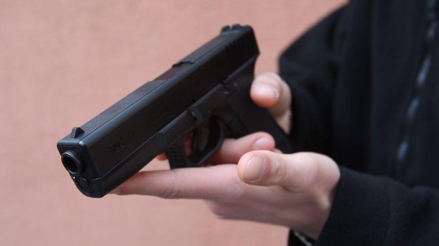 Pistolet factice (image d'illustration).