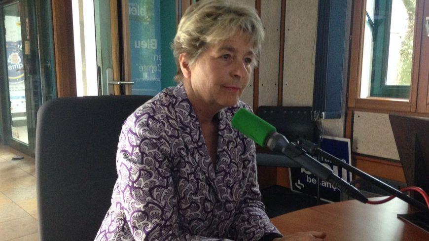 Marie Guite Dufay, la présidente de Bourgogne-Franche-Comté