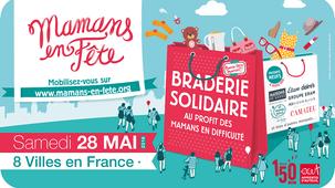 Mamans en fête , 8 Braderies Solidaires