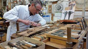 Philippe Gilbert, sculpteur sur bois