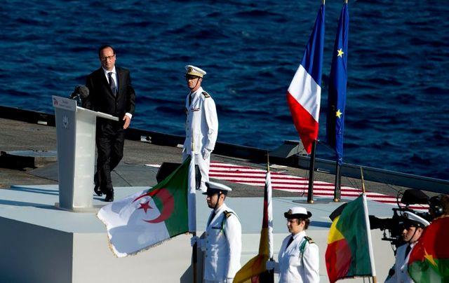 françois hollande célèbre le 70e anniversaire du débarquement de provence