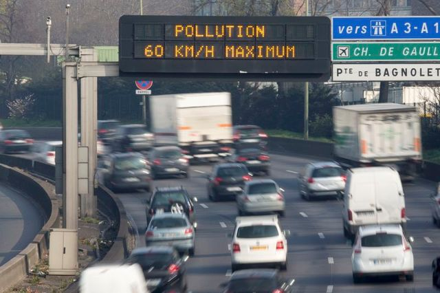 circulation alternée dès lundi à paris